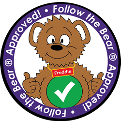 Follow the Bear Approved Logo