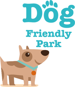 Wyldecrest Dog Friendly park text dog 250pxwide