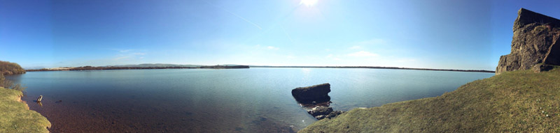 Port Haverigg coast panaroma