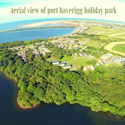 Port Haverigg Aerial View Small
