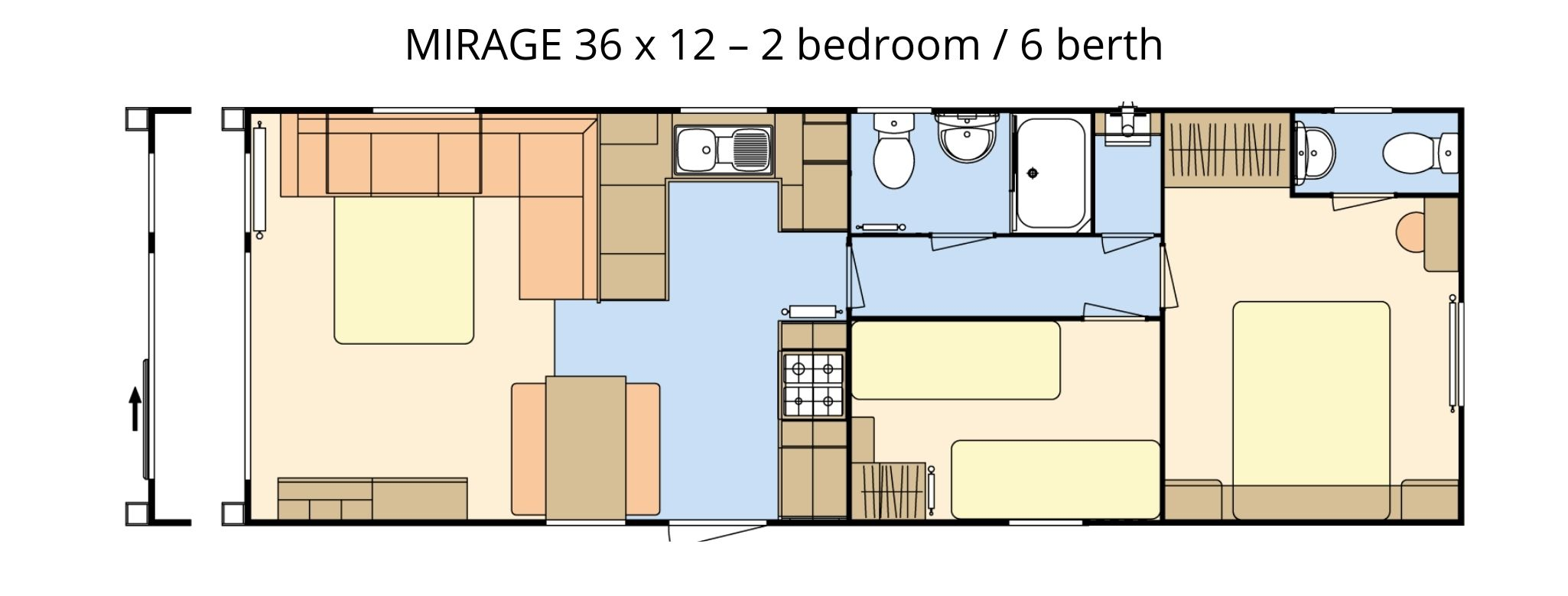 Atlas Mirage 36 x 12 floor plan