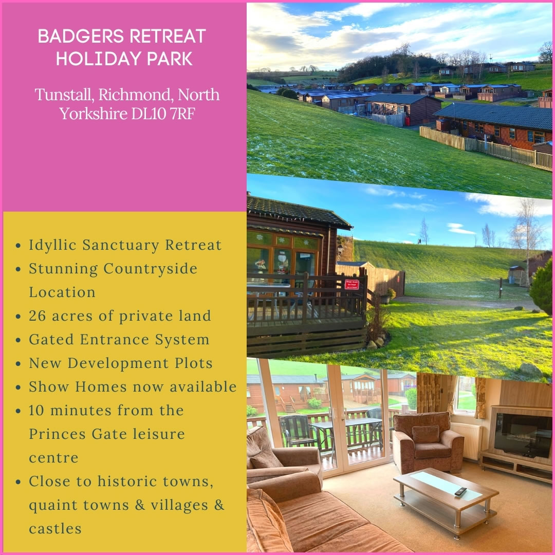 Badgers Retreat Holiday Park Ad Banner