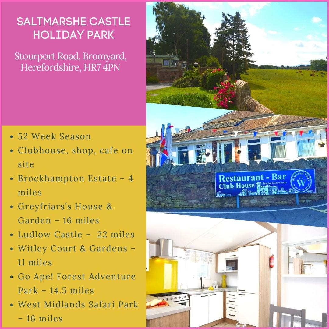 Saltmarshe Castle Holiday Park Ad Banner