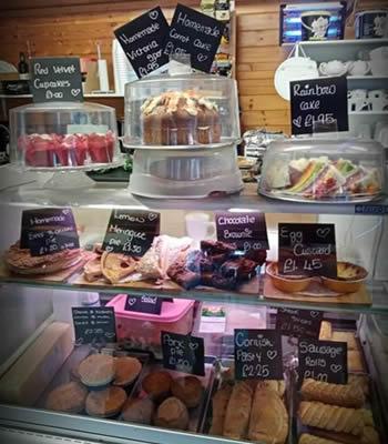 Shop Cake Display Saltmarshe Castle