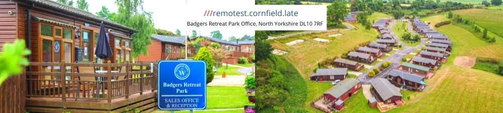 Badgers Retreat What3Words Banner