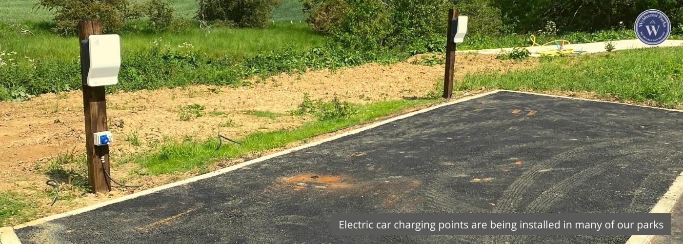 Bockenfield Car Charging points Wyldecrest Parks