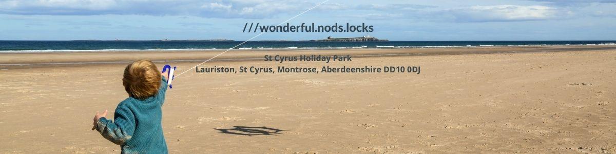 What 3words St Cyrus Park